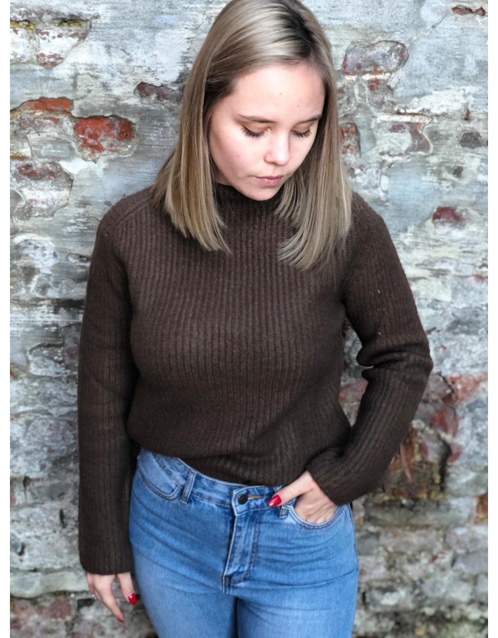 Rut&Circle Marielle Knit Brown