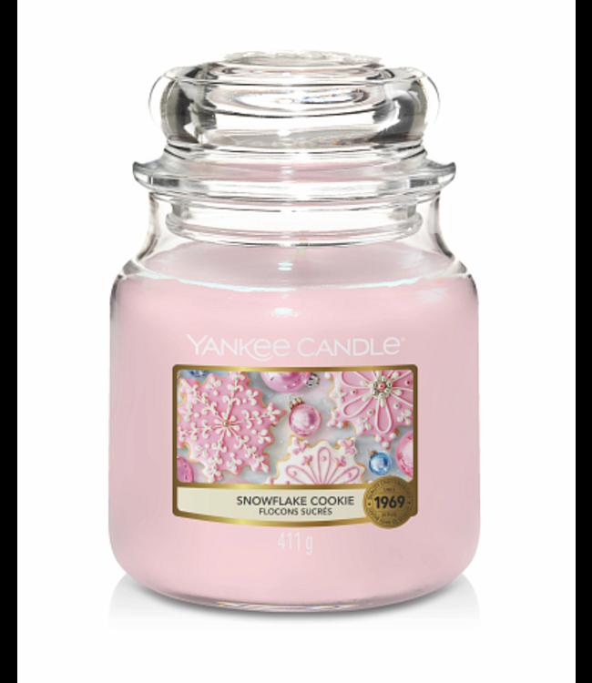 Yankee Candle Snowflake Cookie Medium Jar