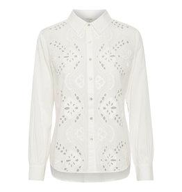 Cream Kallie Shirt Snow White