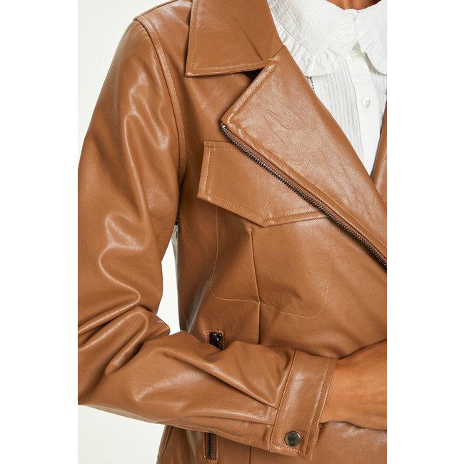 Ille Faux Leather Jacket