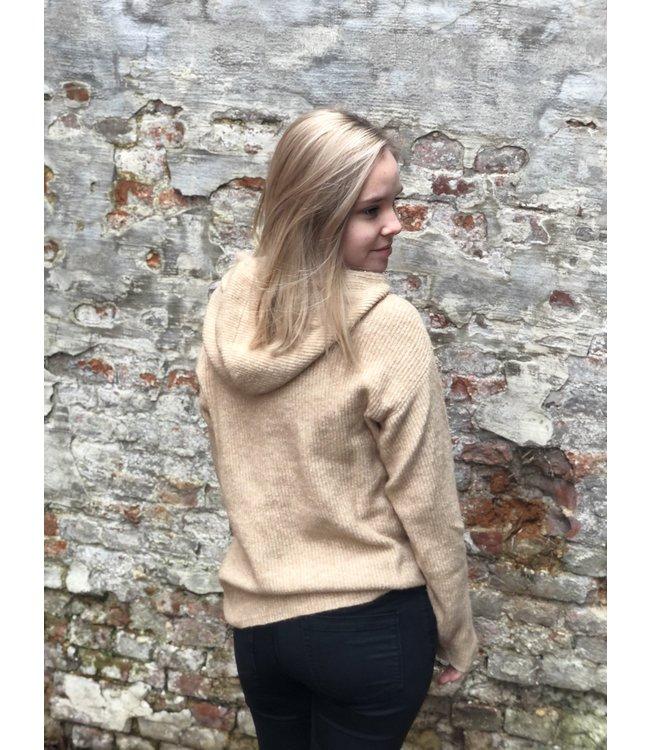 Marissa Knit Pullover Nomad Melange