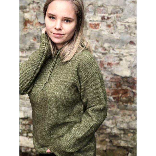 Marissa Knit Pullover Capulet Olive