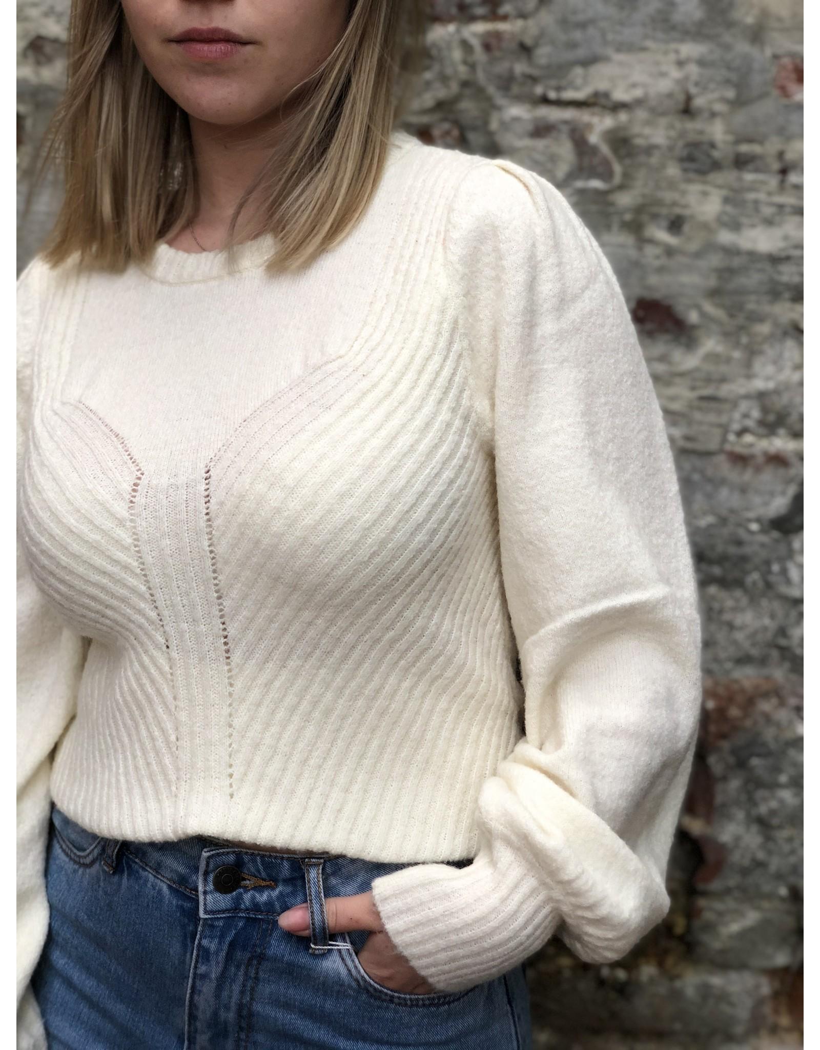 Karen by Simonsen Else Pullover Egret