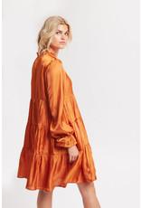Karen by Simonsen Pang Dress Orange Rust