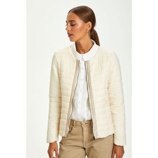 Cream Gilliana Quilt Jacket