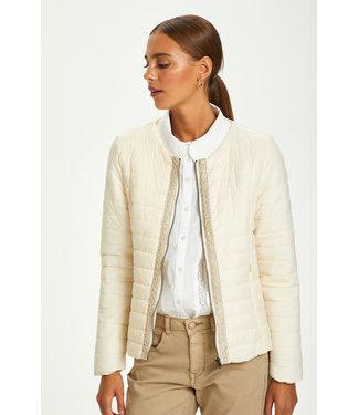 Cream Gilliana Quilt Jacket