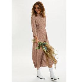 Cream Hany Flower Dress