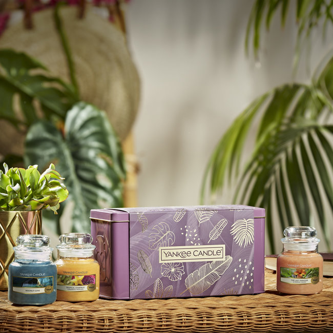 The Last Paradise 3 Small Jars Giftset