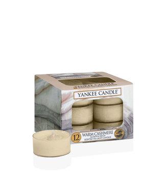 Yankee Candle Warm Cashmere 12 Tea Lights