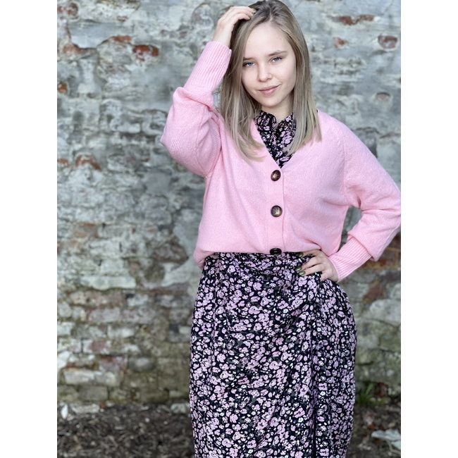 Fabiola Cardigan Candy Pink