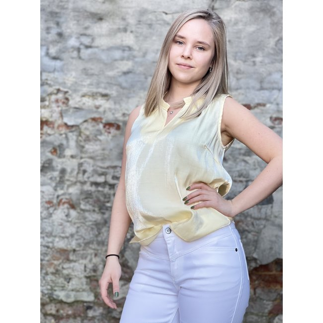 Cecilie Top Yellow Delight