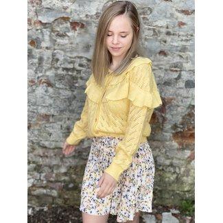 Rut&Circle Nora Pleat Skirt