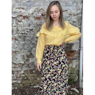 Rut&Circle Zandra Asymmetric Skirt