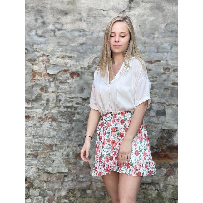 Big Flower Skirt