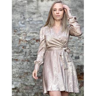 YentlK Beige Gold Dress