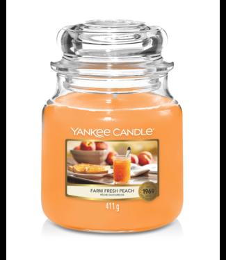 Yankee Candle Farm Fresh Peach Medium Jar