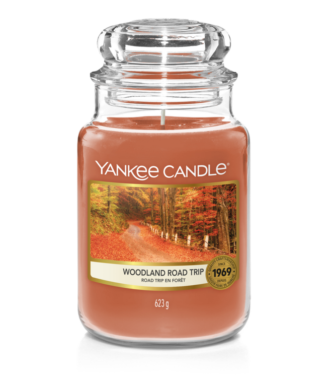 Woodland Road Trip Large Jar