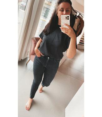 Kaffe Solana Tshirt Black
