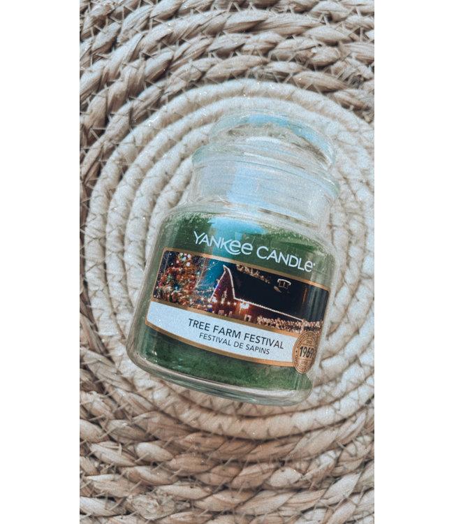 Tree Farm Festival Small Jar