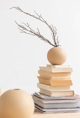 Jolipa  beige Porzellanvase in Kugelform  - Copy