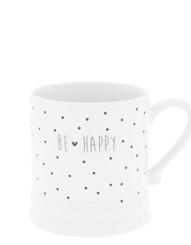Bastion Collections Kaffeebecher Happy & Dots