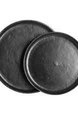 House Doctor schwarzes Tablett in 2 Größen