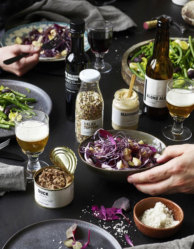 Nicolas Vahé Salat Topping