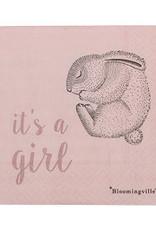 Bloomingville  Serviette It's a girl
