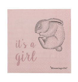 Bloomingville  Serviette It's a girl