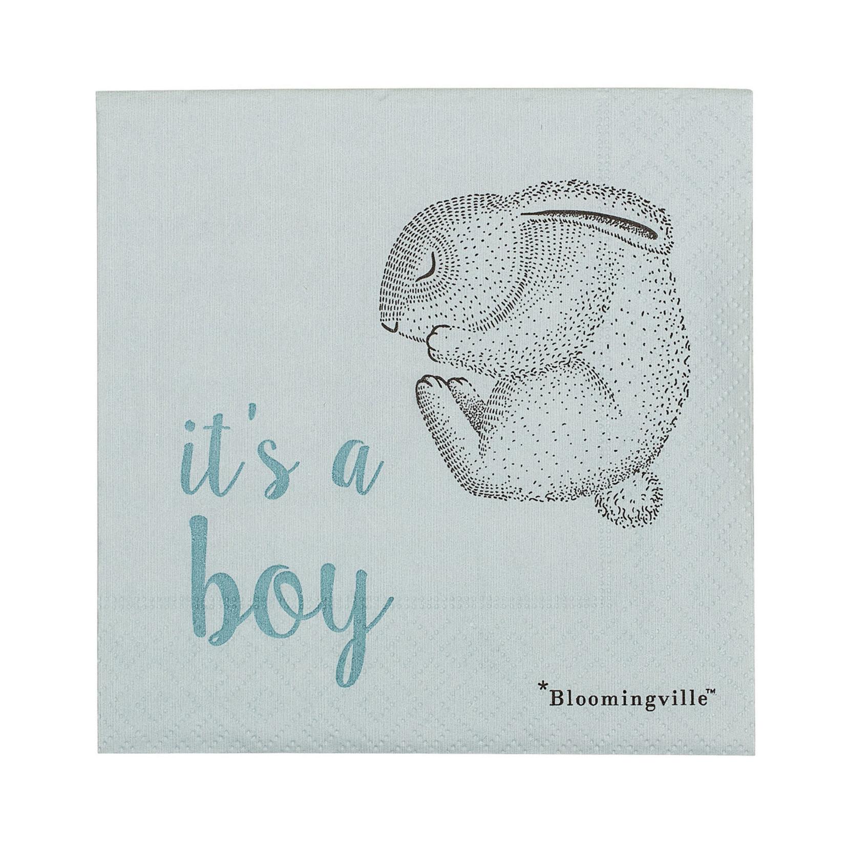 Bloomingville  Serviette It's a boy