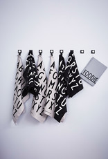 Design Letters weiß/schwarzes Küchenhandtuch