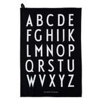 Design Letters Classic Tea Towel black