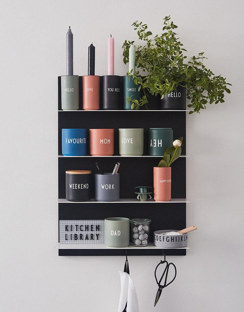 Design Letters Favourite vase - GREENHELLO