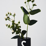 Design Letters Flower Holder - BLACK