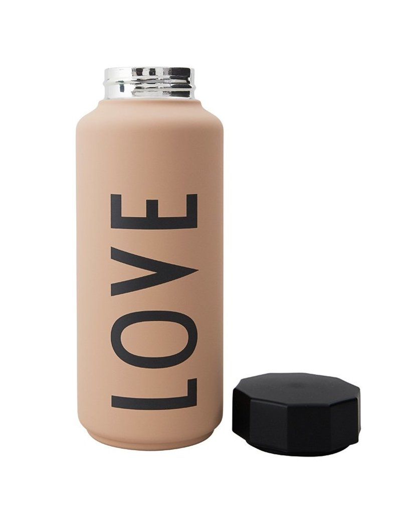 Design Letters Thermo Insulated Bottle Special Edition Love