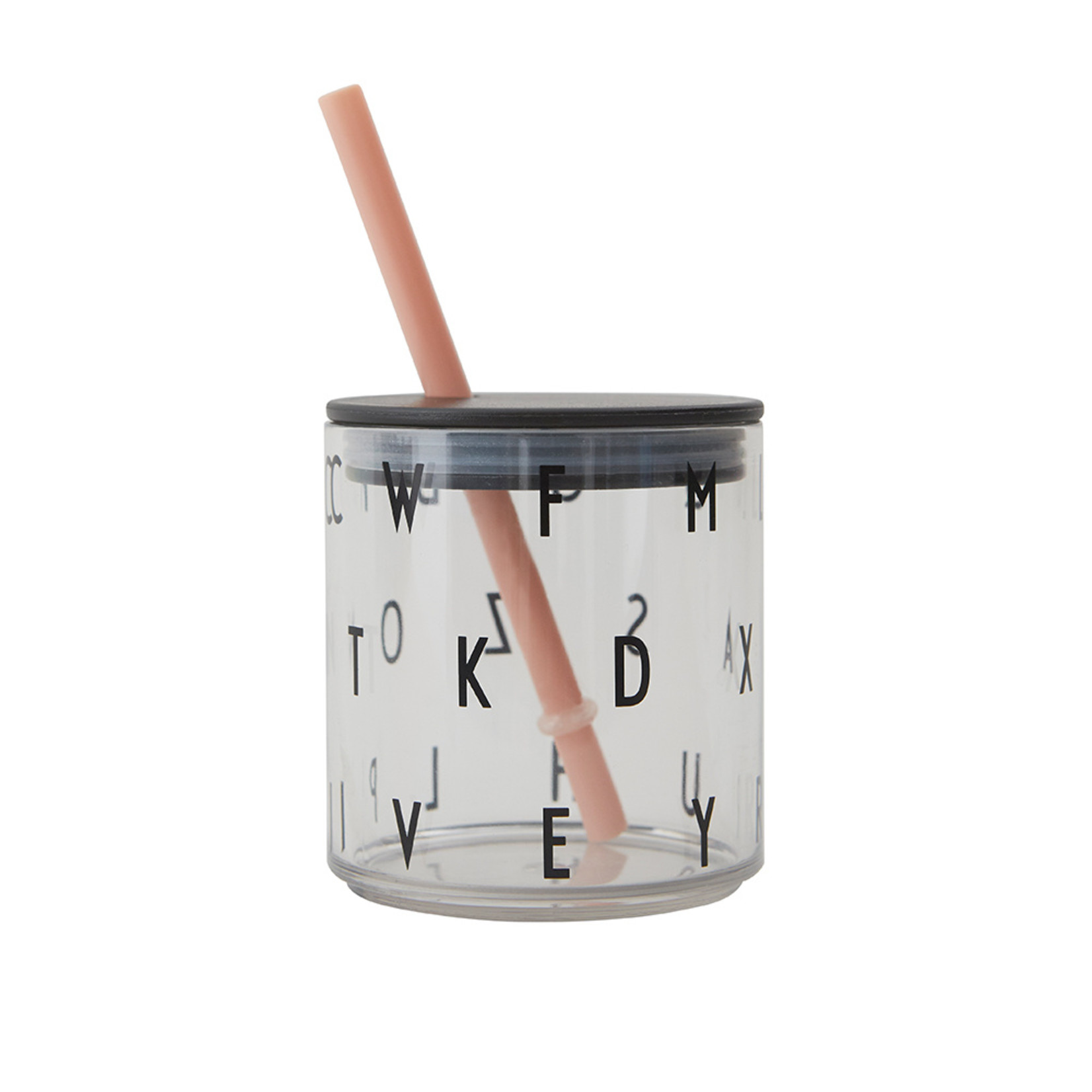 Design Letters Kids drinking glass ABC