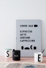 Design Letters Personal Porcelain cup A