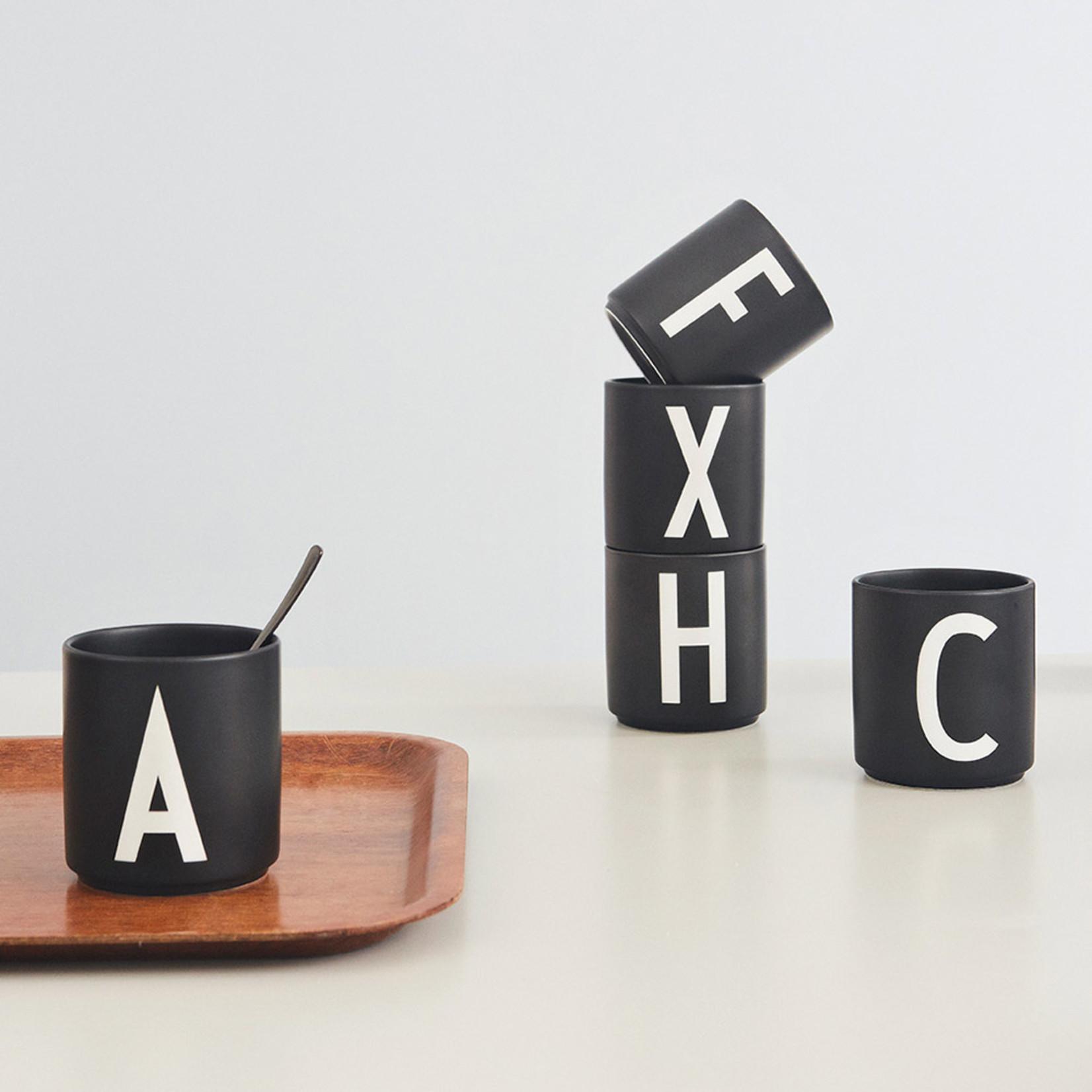 Design Letters Personal Porcelain cup U