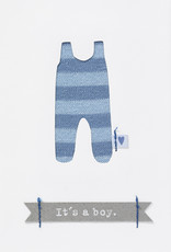 Räder Design Babykarte it's a boy