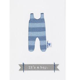 Räder Design Babykarte it's a boy