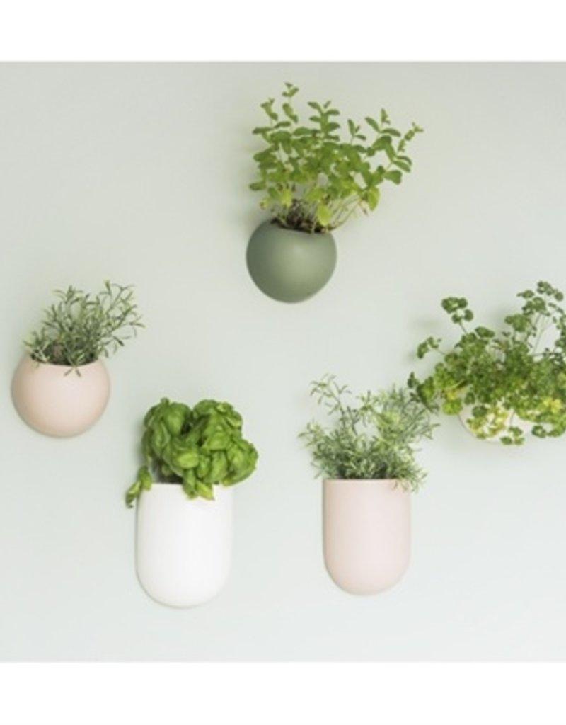 Presenttime Wall Plant Pot weiß