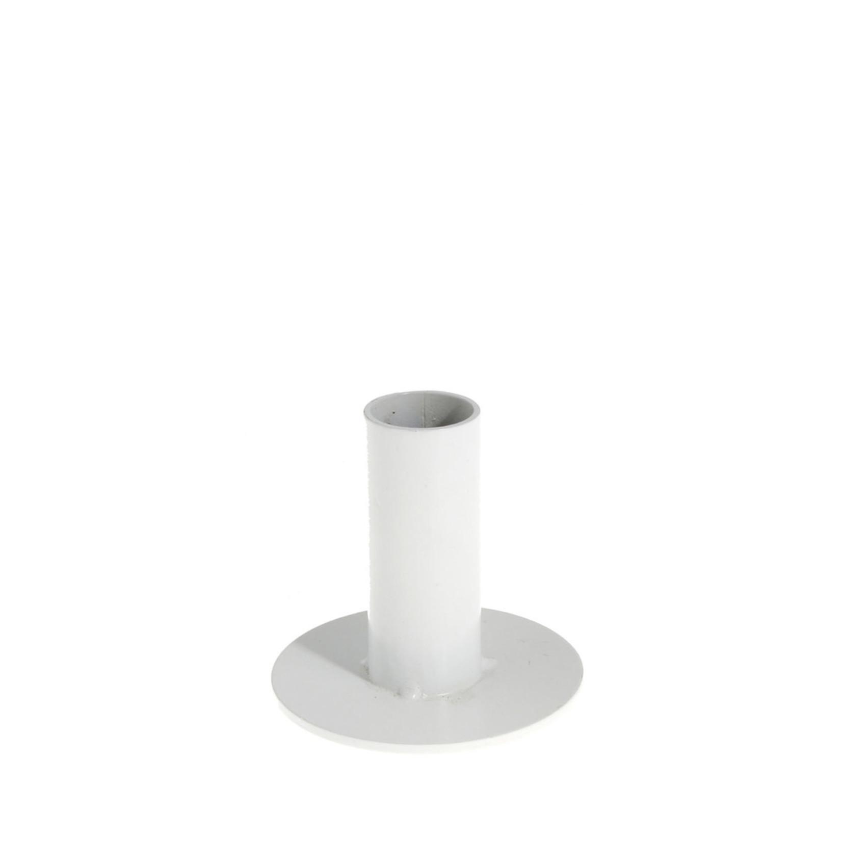 Storefactory  Kerzenständer Eksund weiß