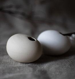 Storefactory  eiförmige Vase beige