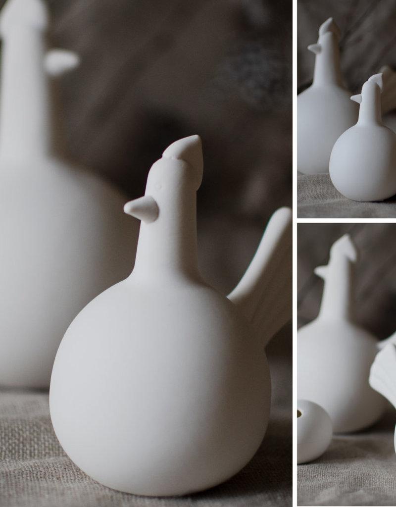Storefactory  Keramikhenne weiß