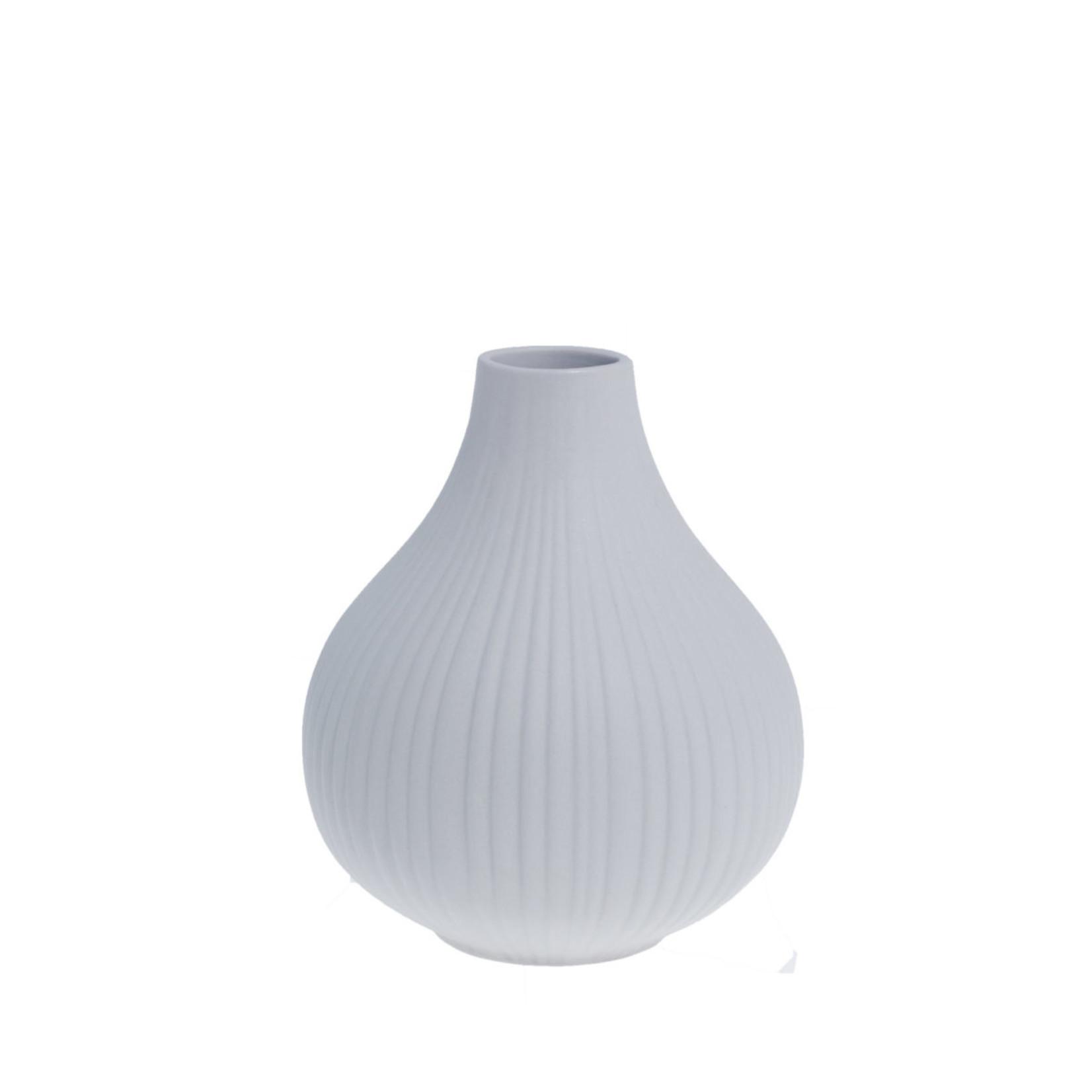 Storefactory  Vase Ekenäs grau M