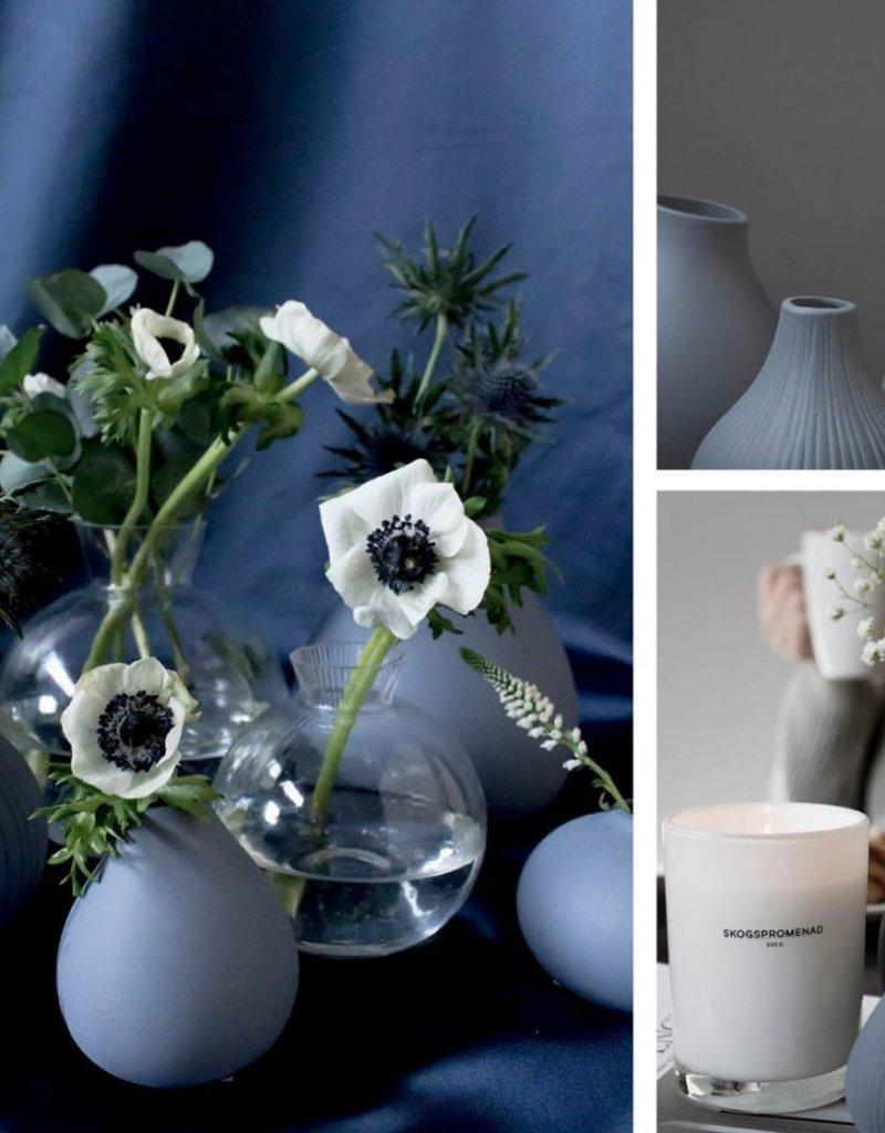 Storefactory  Vase Ekenäs m graublau