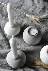 Storefactory  Sandvik Teelichthalter weiß