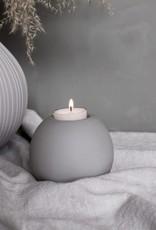 Storefactory  Sandvik Teelichthalter grau