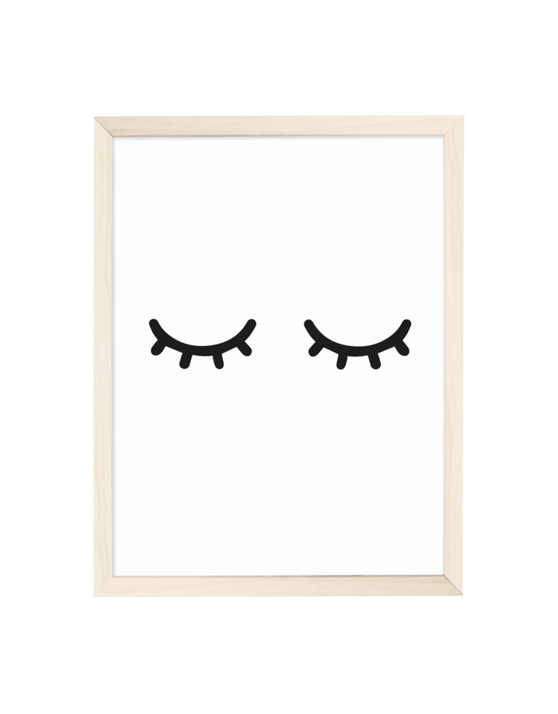Eulenschnitt Artprint Müde Augen