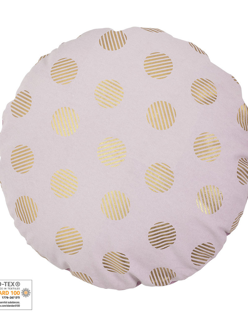 Bloomingville  KISSEN GOLD DOTS